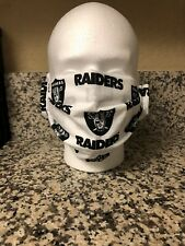 Raiders Face Mask Handmade Double Layer Washable