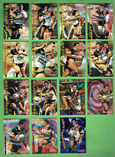 1996 SERIES 1 RUGBY LEAGUE CARDS - PERTH WESTERN REDS