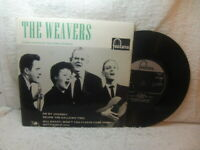The Weavers – The Weavers 1960 EP Fontana TFE 18002