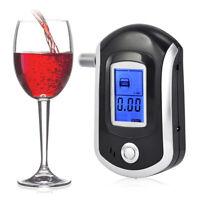 Stable Performance Alcohol Breathalyzer Breath Digital Police Analyzer Detector