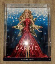 Barbie 2017 Holiday Doll Blonde Hair BRAND NEW NIP NIB RARE HTF CHRISTMAS TOY