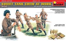 1/35 scala seconda guerra mondiale Soviet Tank Crew Figure Set da Mini Art ~ 35153