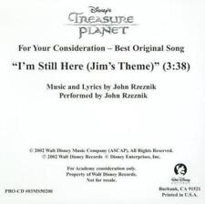 For Your Consideration Disney's Treasure Planet Still Song FYC PROMO Music CD