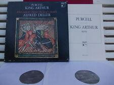 PURCELL: King Arthur > Sheppard Knibbs Elliot Bevan Deller /HM France stereo LPs