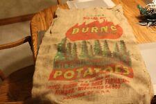 Burns 100 Lbs. Potatoes Burlap Bag