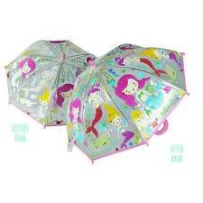 FLOSS & ROCK KIDS UMBRELLA - Magic Colour Changing Fun - Mermaids **NEW**