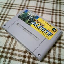 Super Famicom video game Super Aleste Space Megaforce Japan Cartridge only
