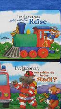 Leo Lausemaus, 2 gut erhaltene Bilderbücher