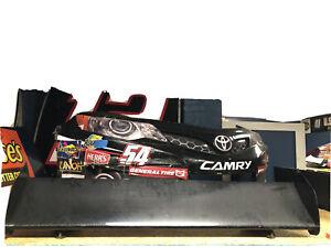 Clint Bowyer COT Carbon Fiber Wing Nascar Race Used Sheetmetal