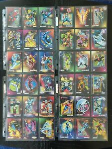 1992 Marvel Universe Series 3 Complete Set With All Five Chase Holograms NM/M