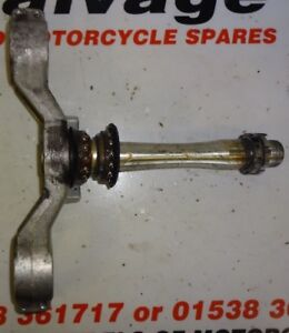 YAMAHA YZF R1 2002 2003 2004 5PW:BOTTOM YOKE:USED MOTORCYCLE PARTS