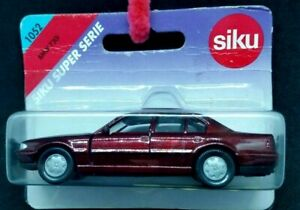 Siku Super SerieS BMW 730i 1052 RED- FACTORY SEALED NEW