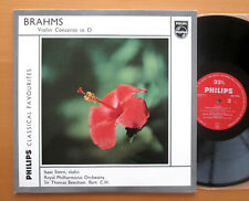 Brahms Violin Concerto Isaac Stern Thomas Beecham NEAR MINT Philips GBL 5638