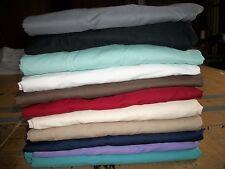 "16  "" Bed Skirt Ruffled 12 Colors Twin Full Queen King  Split Corners"