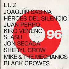 "HEROES DEL SILENCIO - THE BLACK CROWES - SLASH ""ANUARIO DE LA MUSICA 96"" LIVE CD"
