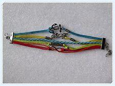 LGBT Bracelet,Wrist Wrap,Anchor,Love,Faith,Infinity,Gift Idea,Rainbow,Pretty