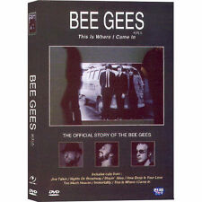 Bee Gees (DVD,All,Sealed,New,Keep Case) THE OFFICIAL STORY: This Is Where I Came