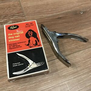 RESCO Original Dog Nail Trimmer No.727 Pet Nail Cutter With Box Small Dogs Cars