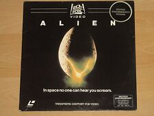 2x Laserdisc - Alien - Deutsche Fassung - Ridley Scott - Sigourney Weaver