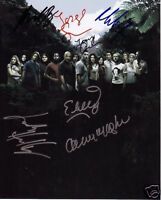 LOST CAST AUTOGRAPH SIGNED PP PHOTO POSTER