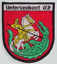 """Marine Patch Patch insignia submarino U-Boot """"u3""""... a5107"""