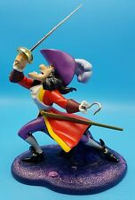 WDCC Walt Disney Captain Hook I've Got You This Time Peter Pan Flower NIB NEW