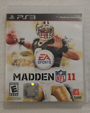 Madden NFL 11 Football Video Game Playstation 3 PS3 EA Sports