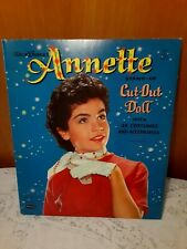 Whitman Walt Disney Annette Stand Up Cut Out Doll #1971