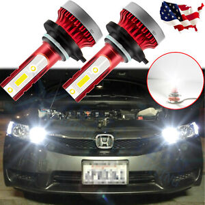 For Honda Accord Civic High Power 6000K 9005 9011 LED Daytime Running Light DRL