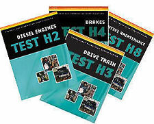 Delmar ASE Test Prep Exam Manual Transit Bus H1 H2 H3 H4 H5 H6 H7 H8- 8 Book Set