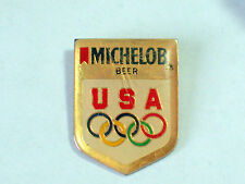 Vintage Michelob Olympic Enamel Pin **