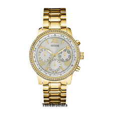 NEW GUESS WATCH for Women * White Dial * Sub Dial* Gold Tone * U0559L2 / W0623L3