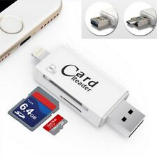 USB3.0 high speed 3 in 1 SD TF Card reader for Android / iOS phone and PC