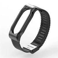 Smart Bracelet Stainless For Xiaomi Mi Band 2 Steel Watch Band Strap Metal Wrist