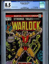 Strange Tales #178 CGC 8.5 1975 Warlock Marvel Comics 1st Magus k8
