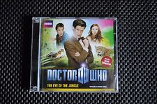 DR WHO EXCLUSIVE ADVENTURE - 11TH DOCTOR THE EYE OF THE JUNGLE AUDIO CD