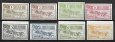 Romania stamps 1903 MI 146-153 IMPERFORATED set MNH VF HORSES