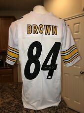 Antonio Brown Pittsburgh Steelers NFL Original Autographed Jerseys ... be335e9af