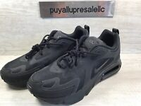 "New Men's Nike Air Max 200 Casual Shoes ""Triple Black"" AQ2568-003 Size 11"