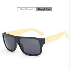 Handmade Unisex Bamboo Wood Sunglasses Wooden Leg Fashion Party Eyeglasses