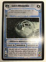 Decipher Star Wars CCG Enhanced Cloud City Lando in Millennium Falcon Swccg