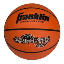 Franklin Sports Grip-Rite 100 Basketball - Official Size