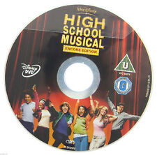 High School Musical - Encore Edition DVD R2 PAL Disney Zac Efron Movie DISC ONLY