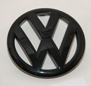 VW Polo  6R ,  Logo Zeichen Emblem  schwarz Hochglanz  kein Facelift model