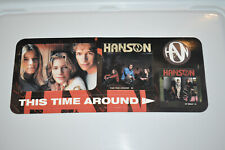 RARE Official Hanson PROMO This Time Around Stickers!