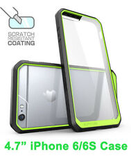 "SUPCASE For iPhone 6/6S 4.7"" Unicorn Beetle Hybrid Protective Bumper Case Green"