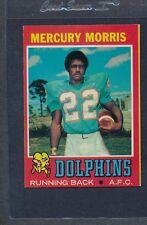 1971 Topps #091 Mercury Morris Dolphins EX/MT *1167