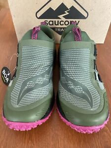 Saucony Women's Switchback 2, Olive/Fuschia, New* Ships Free SRP $140
