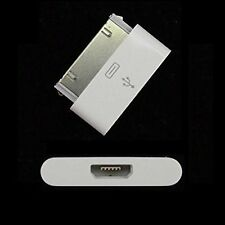 Micro USB to 30 Pin Data Sync Charger Adapter for iPhone 4