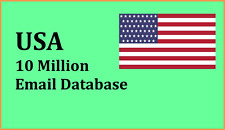 New 10 Million USA email List for Marketing & Business - USA UK CA EU Email List